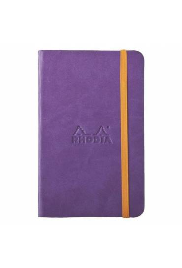 Cuaderno Rhodiarama A6 rayado violeta