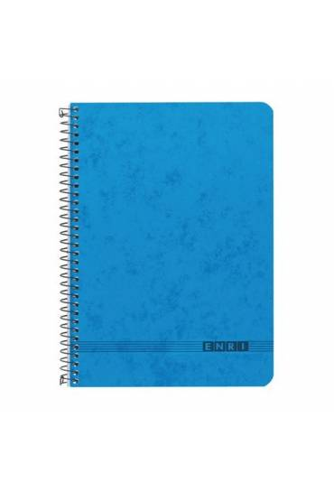 Cuaderno Folio 80hj 60gr.liso azul Office Enri