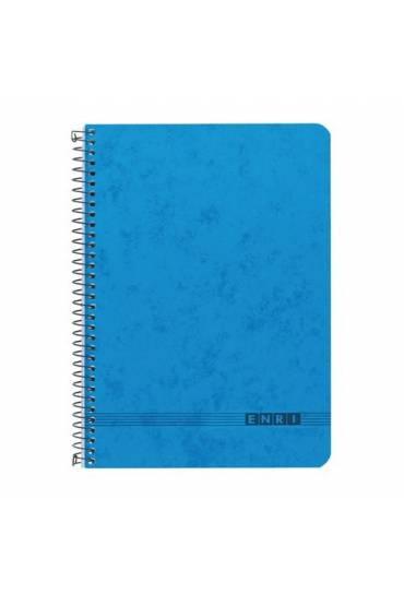 Cuaderno 4º 80hj 60gr.liso azul Office Enri