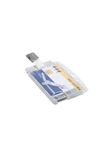 Identificadores rigidos Durable 2 tarjetas 25 unds