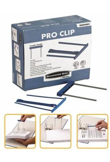 Fastener plastico pro clip Fellowes 50 unidades