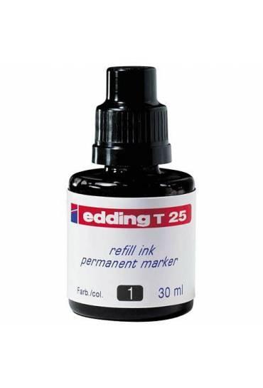 Tintero Edding T25 negra