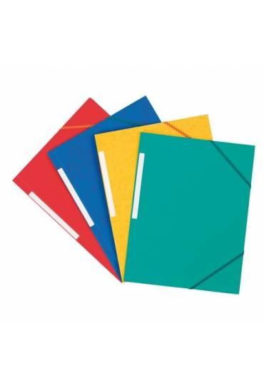 Carpeta carton gomas 3 solapas carton 350 gr surti