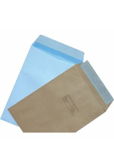 Bolsas 4º prolongado 184x261 blanca caja 250