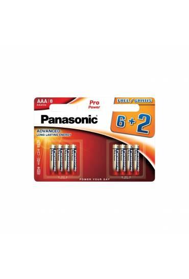 Blister 8 pilas (6+2) Pro Power (premium) LR03 AAA