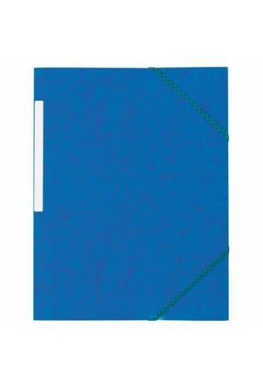 Carpeta carton gomas 3 solapas azul 350grs jmb