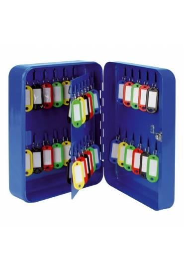 Armario para 48 llaves azul