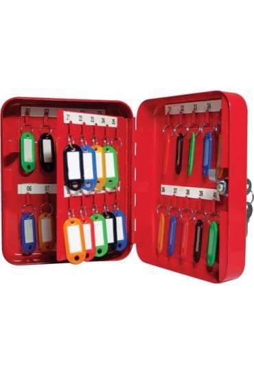 Armario para 48 llaves rojo