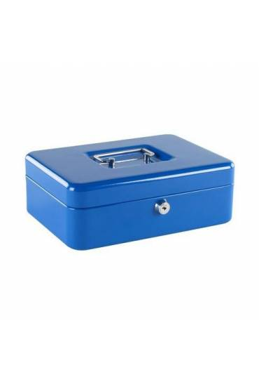 Caja de caudales 25cm azul