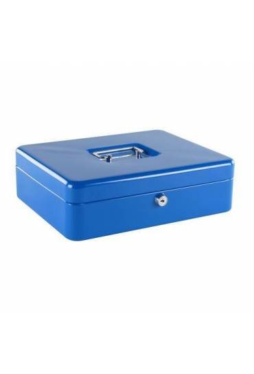 Caja de caudales 30cm azul