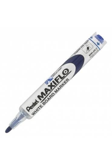 Rotulador pizarra pentel maxiflo azul