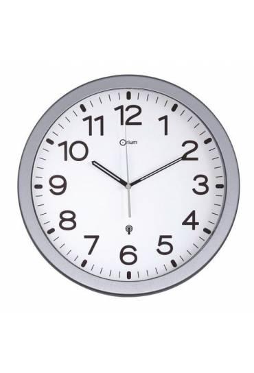 Reloj color radio controlado silver plata