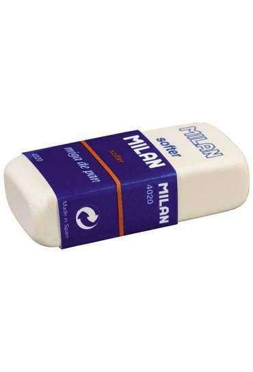Goma de borrar Milan 4020 con funda carton