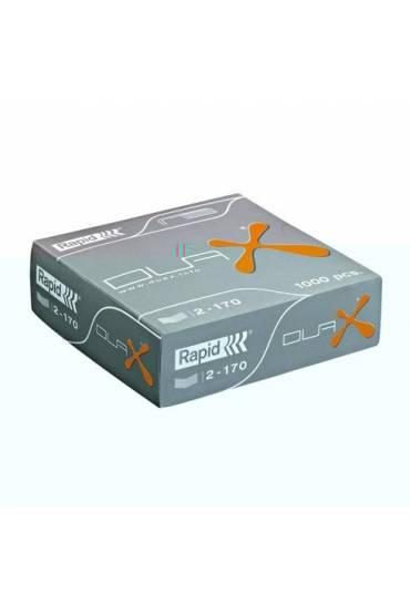 Grapas Rapid duax caja 1000