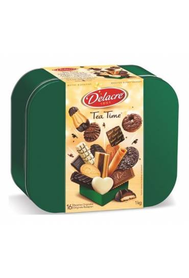 Galletas tea time caja metal 1000gr