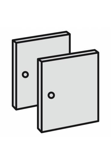 Conjunto 2 puertas maxicubos color blanco