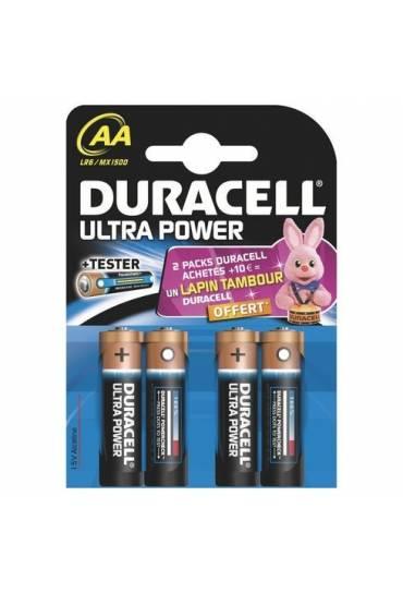 Blíster 4 pilas AA - LR6 Duracell Ultra Power