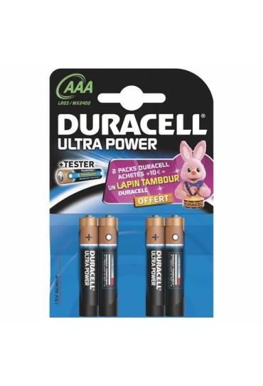 Blíster 4 pilas AAA - LR3 Duracell Ultra Power
