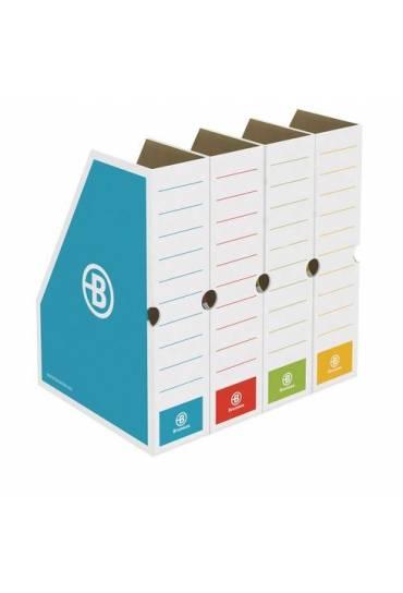 Revistero carton JMB 8.5cm colores surtidos