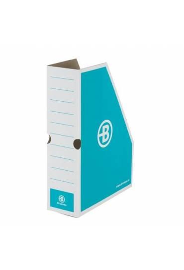 Revistero carton JMB 8.5cm azul