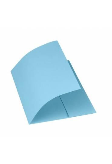 Subcarpetas 1 solapa 250 grs azul Rainex  50 unida
