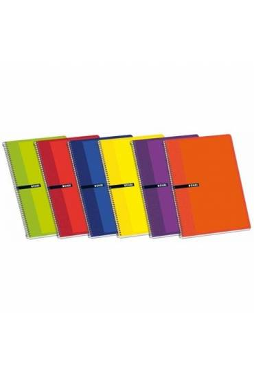 Cuaderno Enri 75x105 80h cuadriculado surtidos