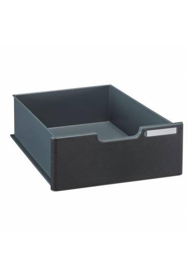 Cajón 10,8 cm para Modulodoc Exacompta negro