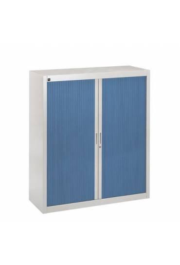 Armario persiana desmontable 135x120 gris-azul