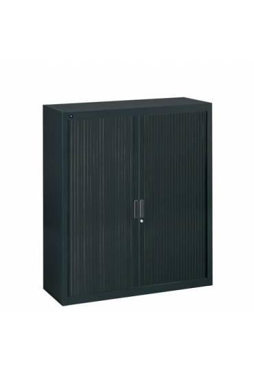Armario persiana desmontable 135x120 negro
