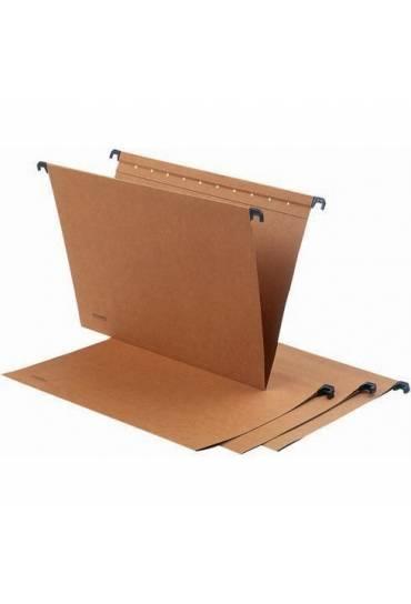 Carpetas colgantes folio kraft cajon 50 unds