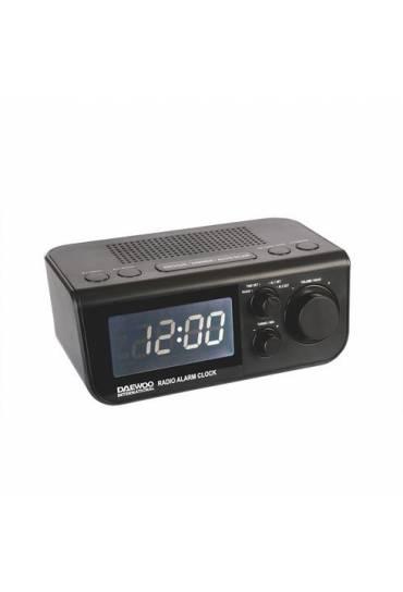 Radio reloj despertador dcr 48 negro
