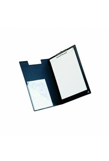Portabloc con tapa A4 PVC negro