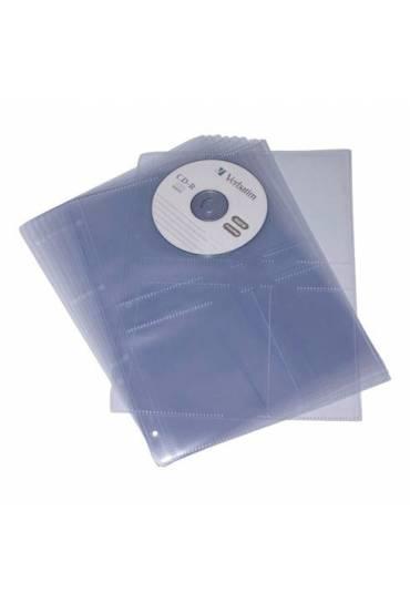 Pack de 10 fundas 8º para 2 cd's 2T