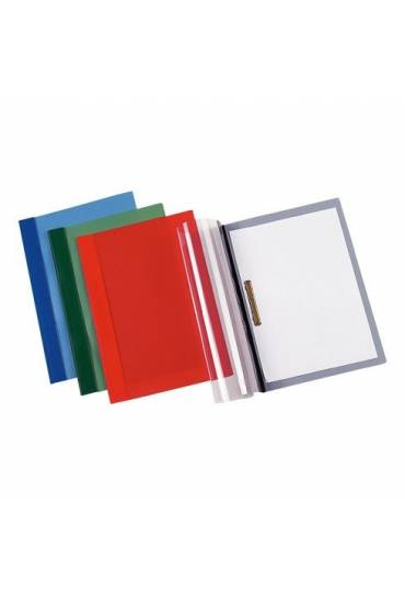 Dossier fastener metalico A4 rojo