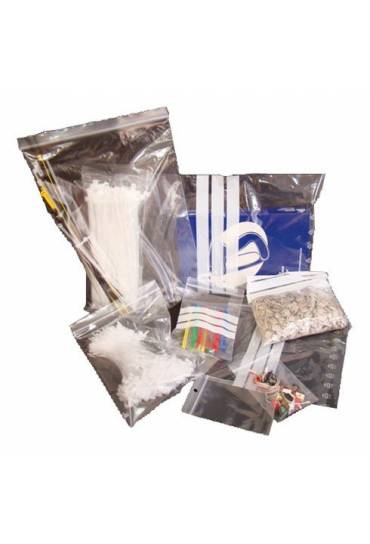 Pack 100 bolsas 100x150 autocierre escritura
