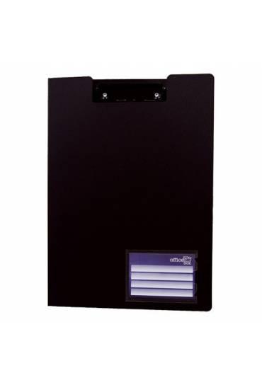 Carpeta negra con pinza Office box