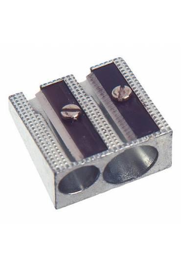 Afilalapiz aluminio doble usoforma cuña Faibo