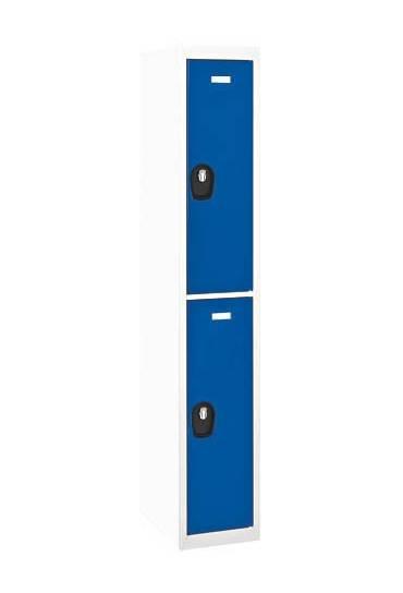 Taquilla adicional 2 cuerpos  gris-azul