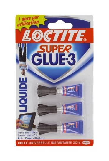Loctite 3 tubos super glue 1g