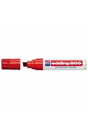 Marcador Edding 800 rojo