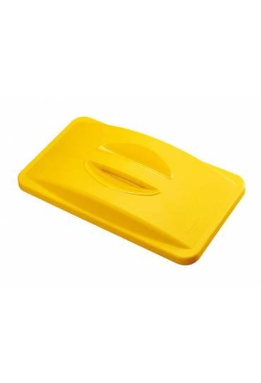 Tapa  contenedor Rubbermaid Slim Jim amarillo