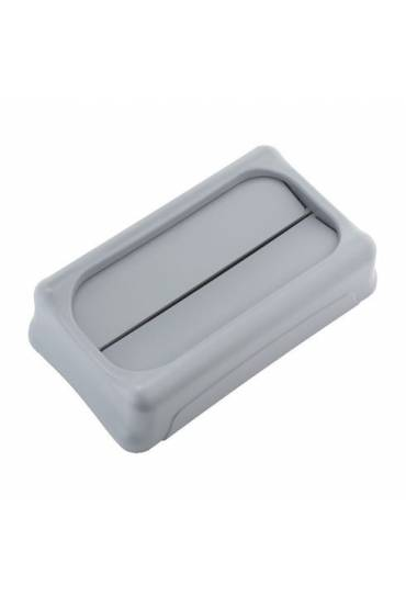 Tapa  contenedor Rubbermaid Slim Jim gris