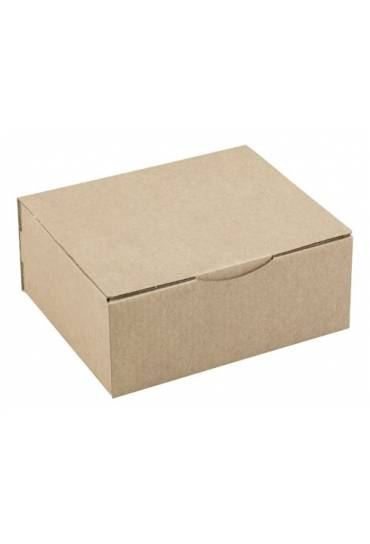 Cajas postal marrón 25 x 20 x 10 cm Paquete 50