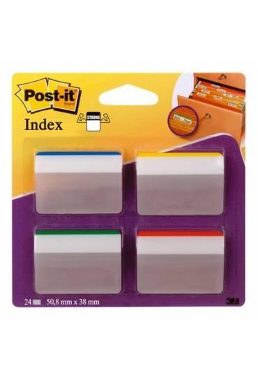 Post-it Index Rigidos inclinados para archivos