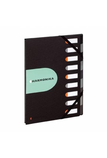 Carpeta clasificadora PP reciclado Harmonika