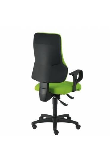 Silla  ruedas oficina dhark verde sincro