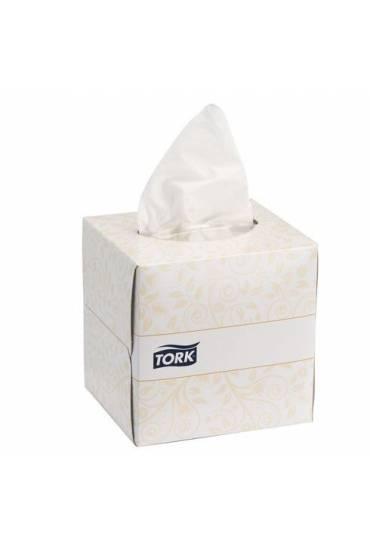 Pañuelos celulosa blanca Tork caja 100