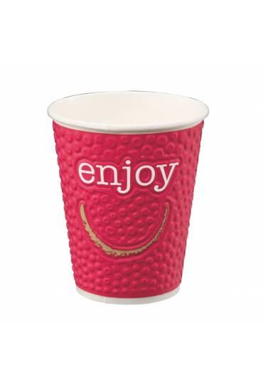 "Vasos ""Enjoy"" bebidas calientes 35 cl 102 unidades"