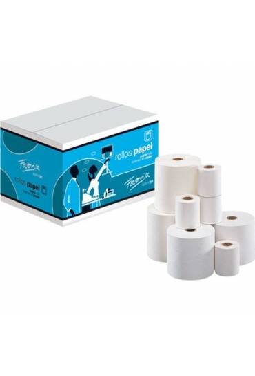 Rollo 2 copias de papel Electra 75x65 x 12 mm.