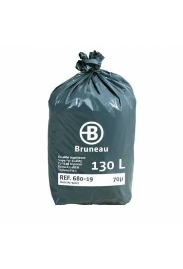 Bolsas basura gris 130 l JMB calidad superior 200